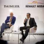 Daimler und Renault-Nissan Pressegespräch 2016, Paris
