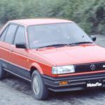 日本で最も売れたベストセラー・カローラは?【Corolla Stories 31/50】 - 19851104_nissan_sunny_4dr sedan super saloon_1_ll