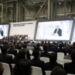 AUDI AG opens automobile plant in Mexico_11