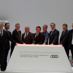 AUDI AG opens automobile plant in Mexico_14