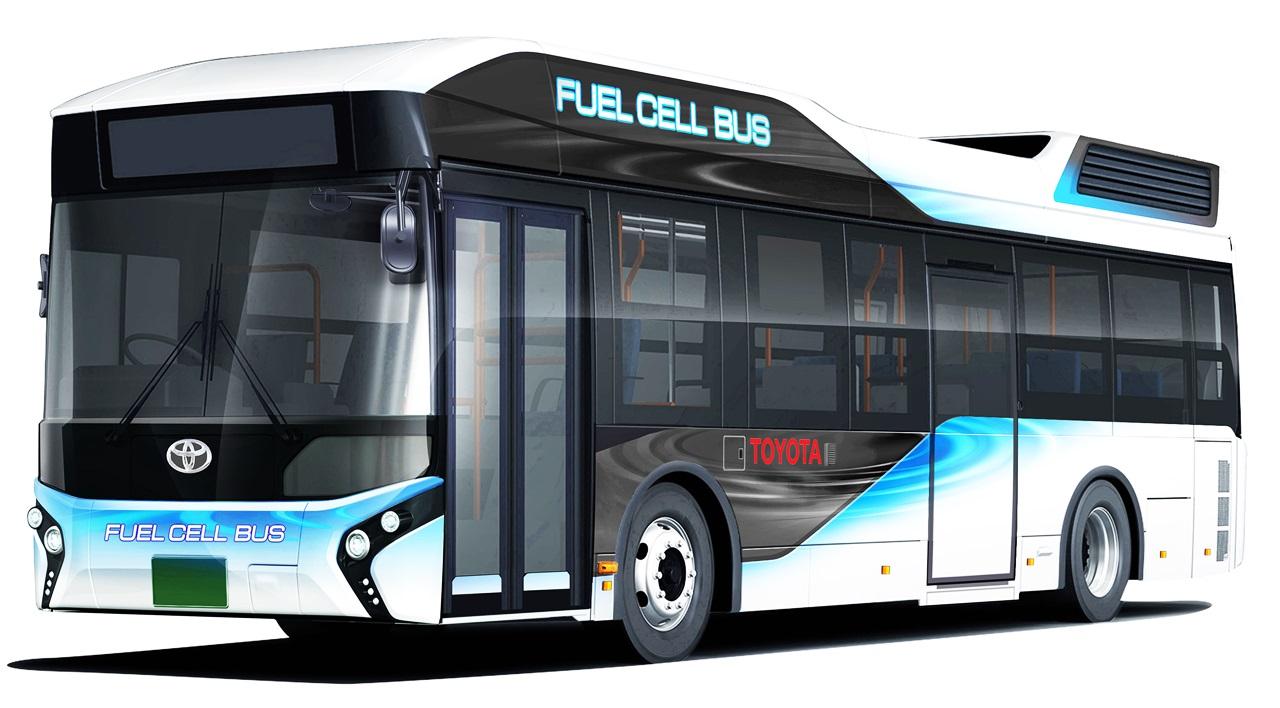 トヨタが東京五輪に向けて100台超の燃料電池バスを投入 ...