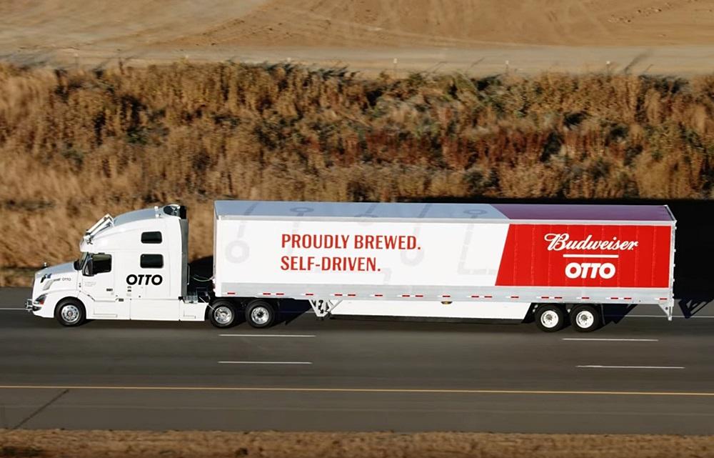 米Uberが自動運転の長距離トラックでビール5万本を配送! | goo ...