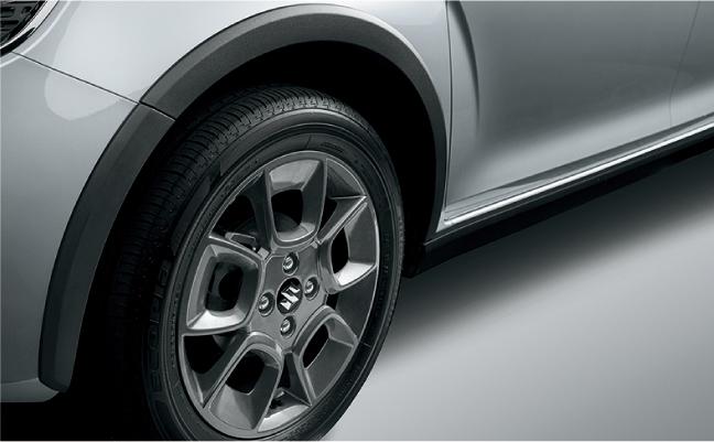 「スズキ・イグニスにSUVテイストを強めた特別仕様車「Fリミテッド」が登場」の3枚目の画像