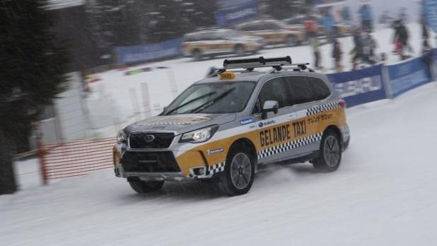 今年は東海地区で初開催!スバルのSUVがゲレンデを駆け上がる恒例のゲレンデタクシー開催決定!