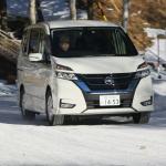 ハイブリッド四駆は貴重な存在。現行セレナに新設の「S-HYBRID+4WD」は雪道で安定感ある走り【日産 氷上・雪上試乗会】 - 20170202Nissan Mewgamiko Snow_299