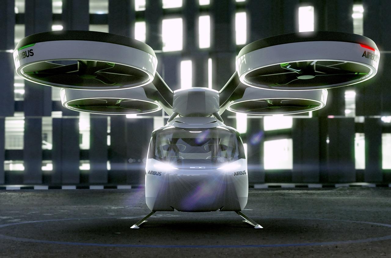 「まるでクルマのタケコプター!? 空飛ぶドローンEV、イタルデザインとエアバス社「Pop.Up」公開【ジュネーブモーターショー2017】」の1枚目の画像