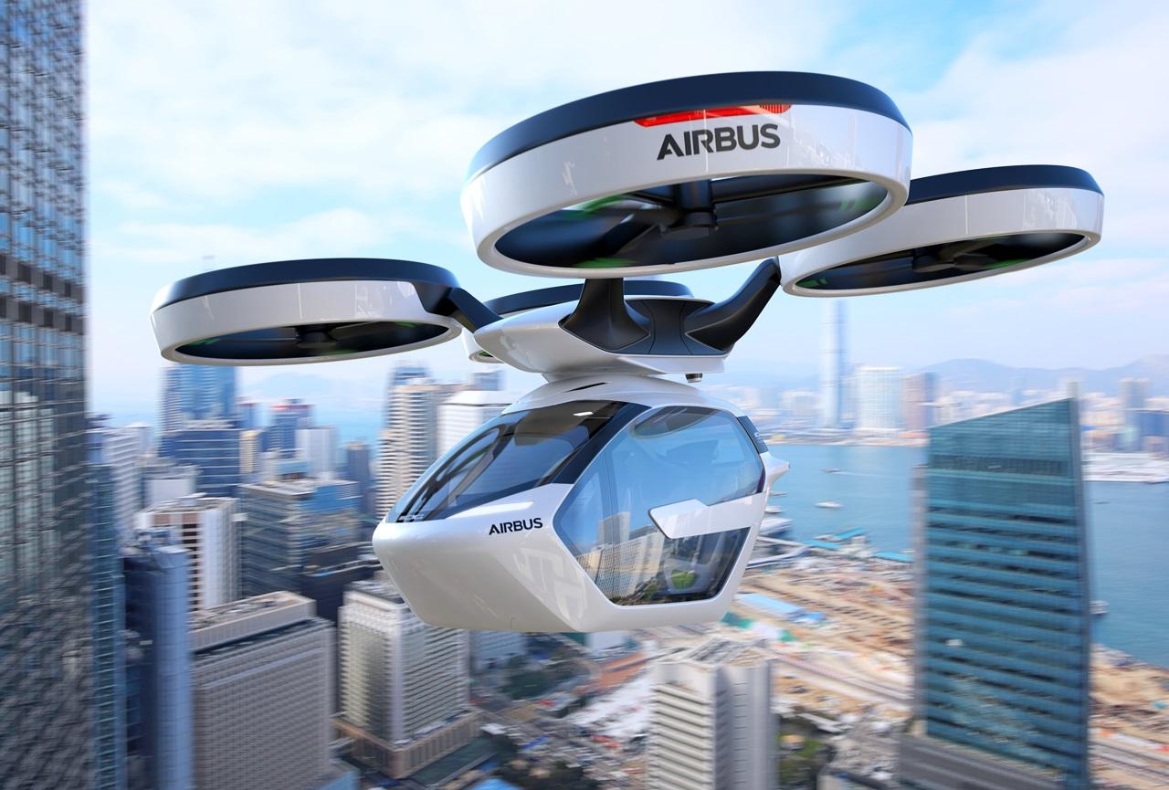 「まるでクルマのタケコプター!? 空飛ぶドローンEV、イタルデザインとエアバス社「Pop.Up」公開【ジュネーブモーターショー2017】」の4枚目の画像