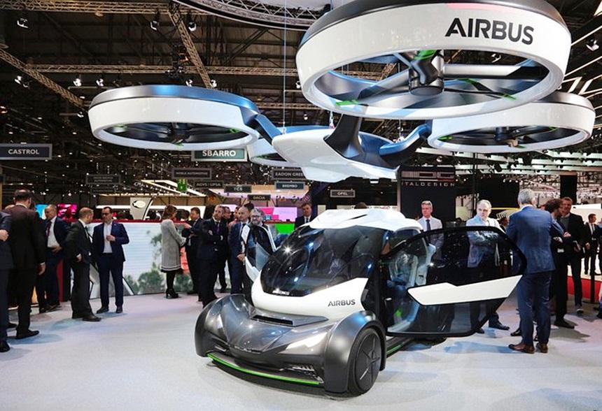 「まるでクルマのタケコプター!? 空飛ぶドローンEV、イタルデザインとエアバス社「Pop.Up」公開【ジュネーブモーターショー2017】」の9枚目の画像