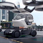 「まるでクルマのタケコプター!? 空飛ぶドローンEV、イタルデザインとエアバス社「Pop.Up」公開【ジュネーブモーターショー2017】」の24枚目の画像ギャラリーへのリンク