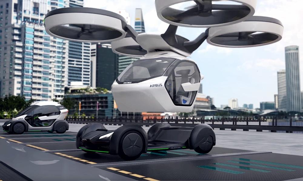 「まるでクルマのタケコプター!? 空飛ぶドローンEV、イタルデザインとエアバス社「Pop.Up」公開【ジュネーブモーターショー2017】」の18枚目の画像