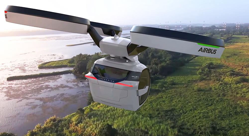 「まるでクルマのタケコプター!? 空飛ぶドローンEV、イタルデザインとエアバス社「Pop.Up」公開【ジュネーブモーターショー2017】」の20枚目の画像