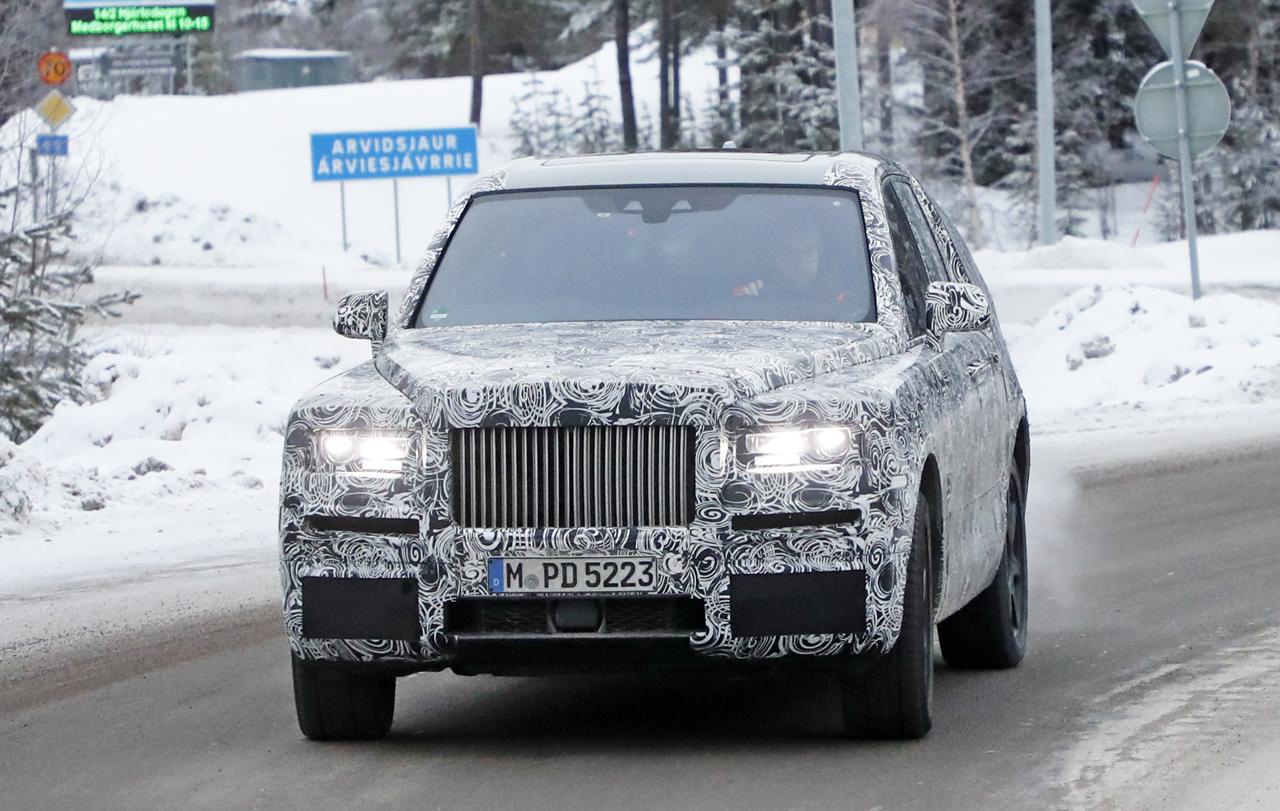 「SUV世界最高額!? ロールスロイス「カリナン」は既存のSUVとは似て非なるモデルに?」の1枚目の画像