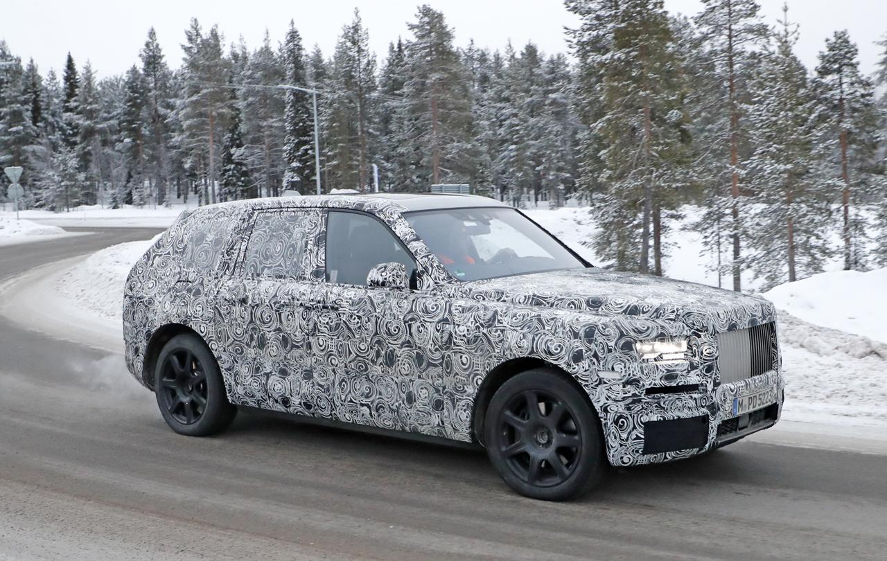 「SUV世界最高額!? ロールスロイス「カリナン」は既存のSUVとは似て非なるモデルに?」の5枚目の画像