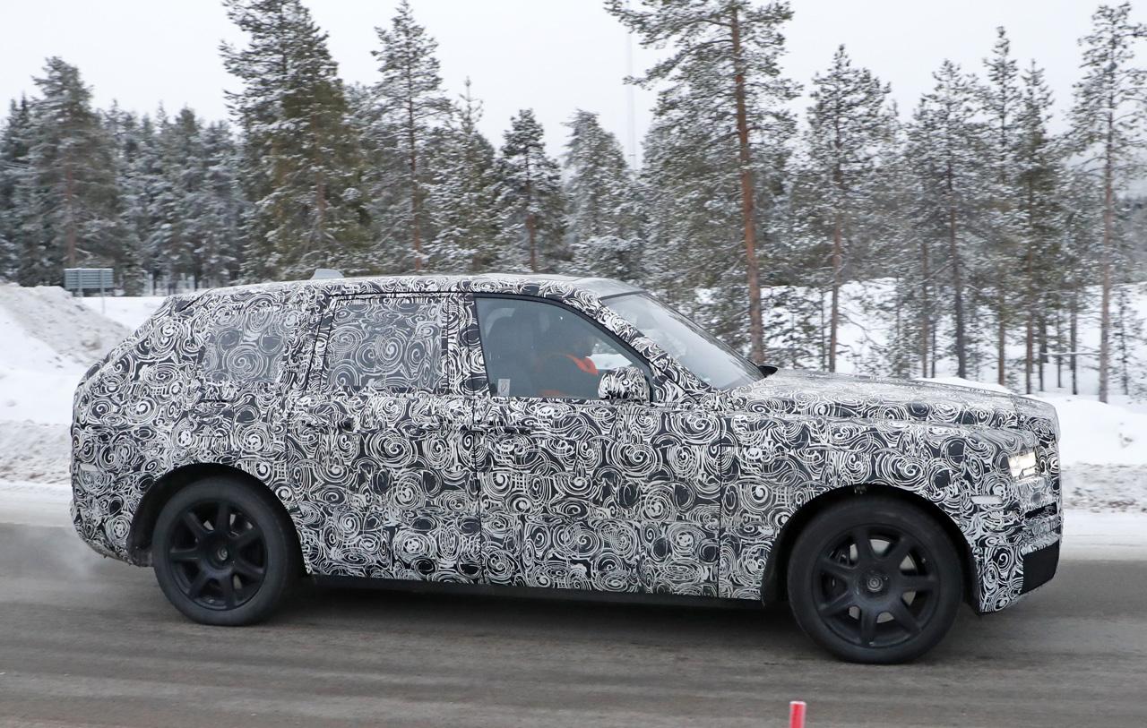 「SUV世界最高額!? ロールスロイス「カリナン」は既存のSUVとは似て非なるモデルに?」の7枚目の画像