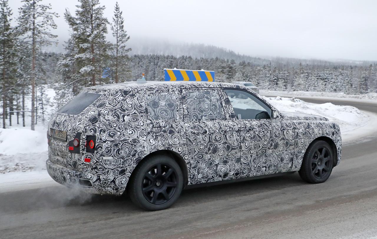 「SUV世界最高額!? ロールスロイス「カリナン」は既存のSUVとは似て非なるモデルに?」の9枚目の画像
