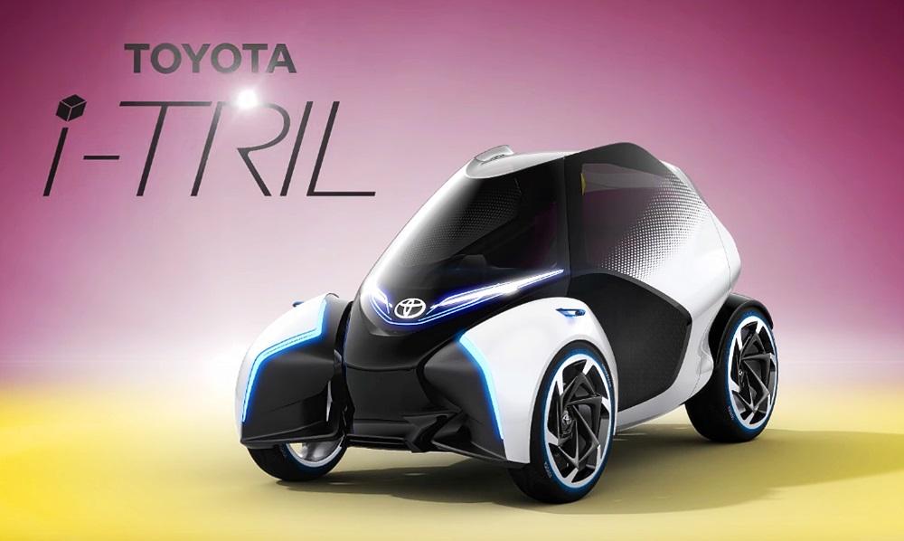 トヨタが「i-ROAD」の進化版「i-TRIL」を公開!【ジュネーブモーターショー2017】 | clicccar ...