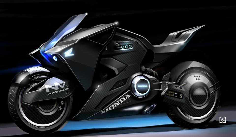 攻殻機動隊の実写版「GHOST IN THE SHELL」に登場する「Honda NM4」の似合い方がすごい ...