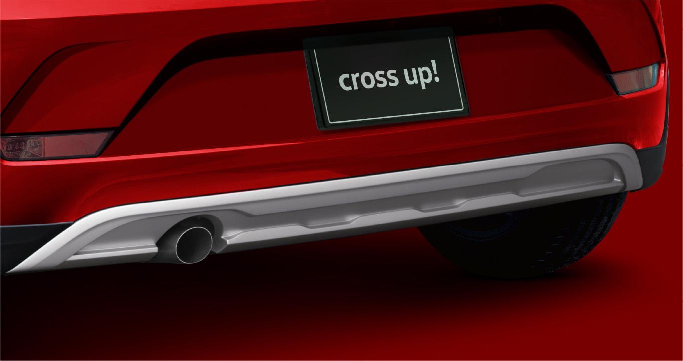 「フォルクスワーゲン up!にお馴染みの「cross up!」が300台限定で登場」の18枚目の画像