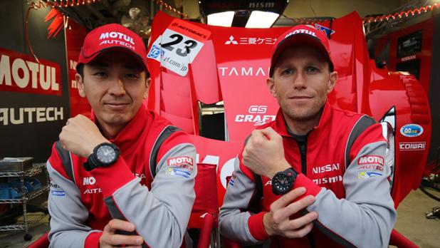 GT500のNISMOチームをサポートするG-SHOCKがスタッフ、クルーにも人気な理由は?