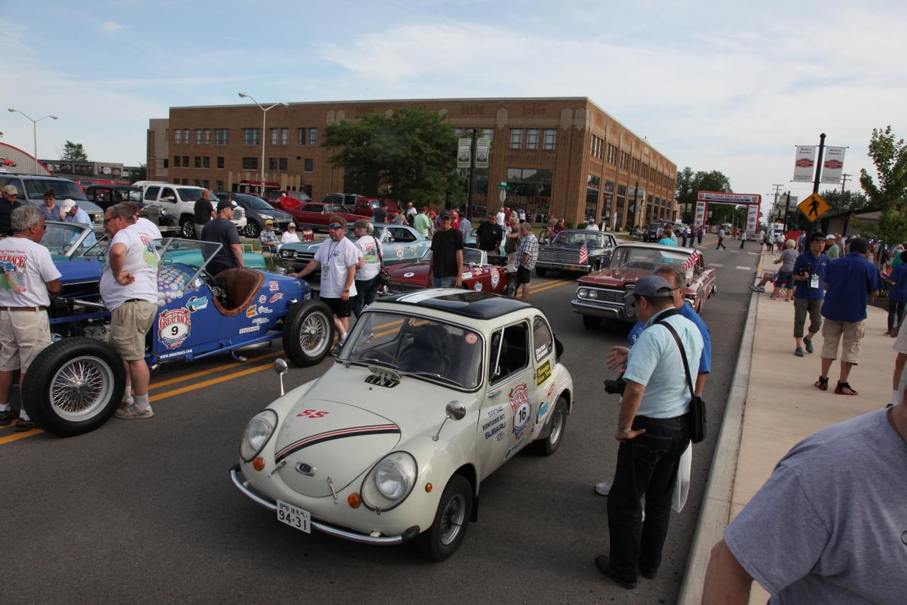 「「クルマを楽しむ」とはどういうことか教えてくれるグレートレース【Great Race フランクリン〜オーバーン】」の1枚目の画像