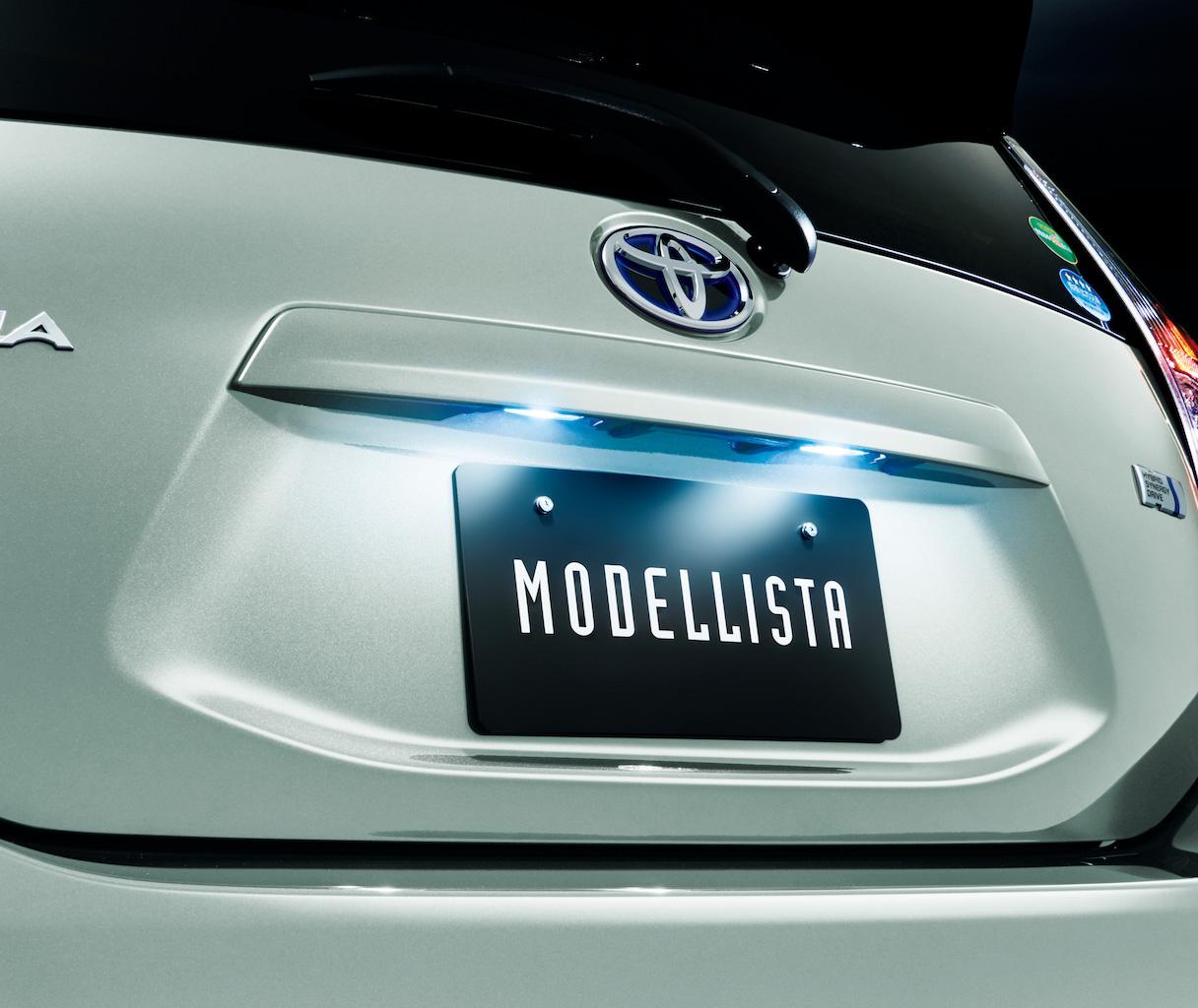 「マイナーチェンジした新型アクアのモデリスタ仕様は「シンプルで上質」がテーマ」の2枚目の画像