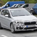 「天使の目」鮮やかに。BMW 225xeアクティブ ツアラー改良型をキャッチ! - BMW 2 Active Tourer Facelift 2