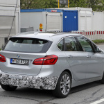 「天使の目」鮮やかに。BMW 225xeアクティブ ツアラー改良型をキャッチ! - BMW 2 Active Tourer Facelift 7