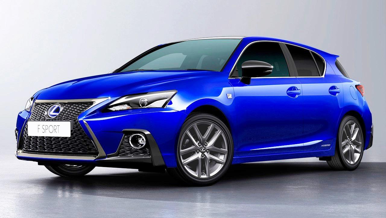 レクサス・CTの安全装備強化!2018年モデルを今秋発売へ   Lexus_CT200h_F-SPORT ...