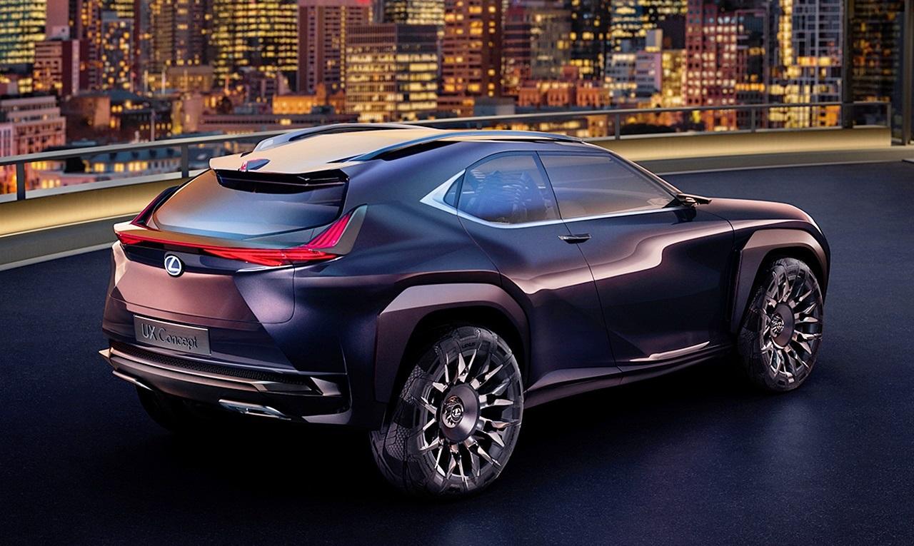新型クロスオーバーsuv「レクサス・ux」来秋量産開始か? | Lexus Ux Concept