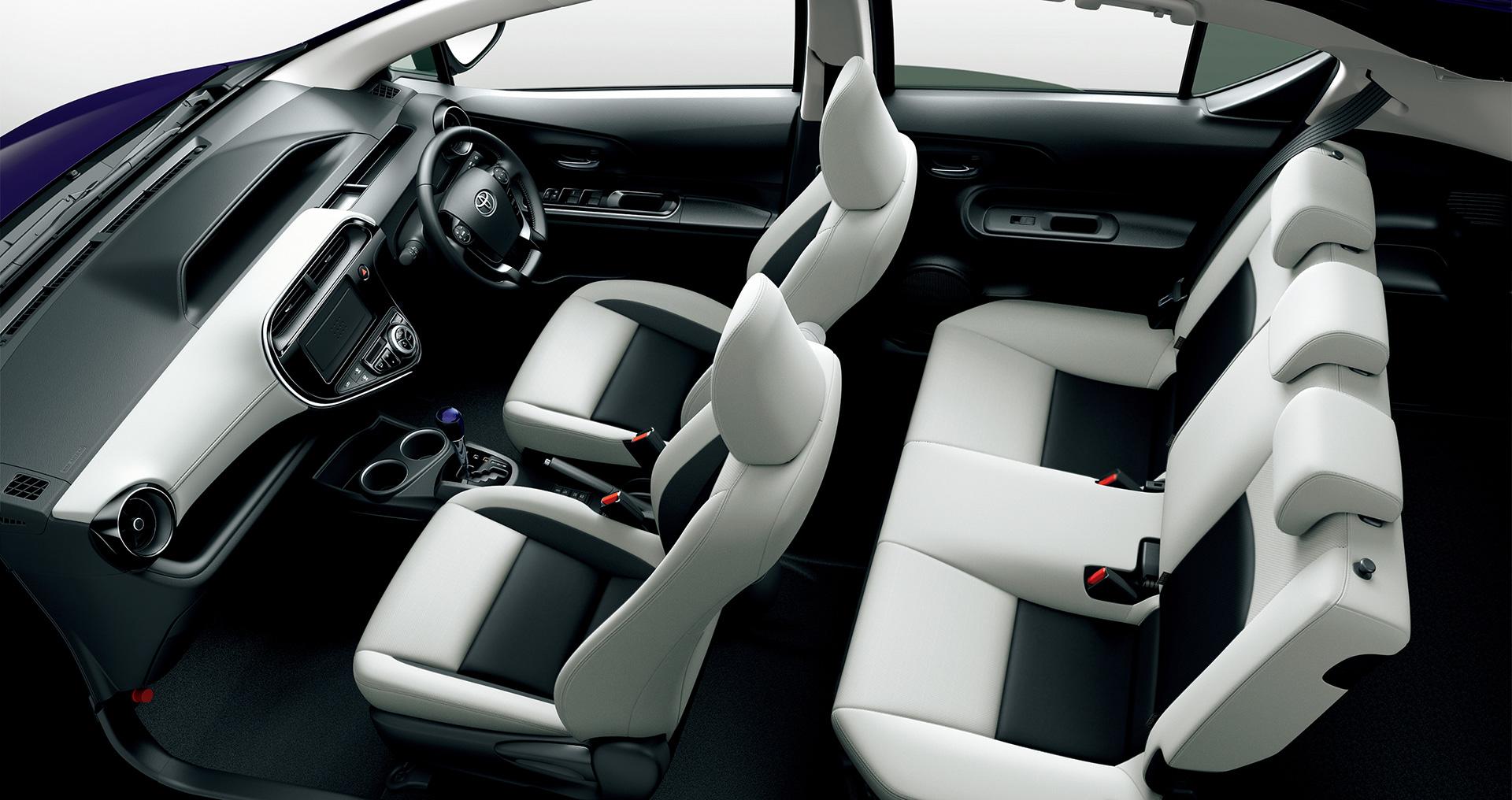 「トヨタ・アクアに「クロスオーバー」を設定。JC08モード燃費も38.0km/Lに進化」の5枚目の画像