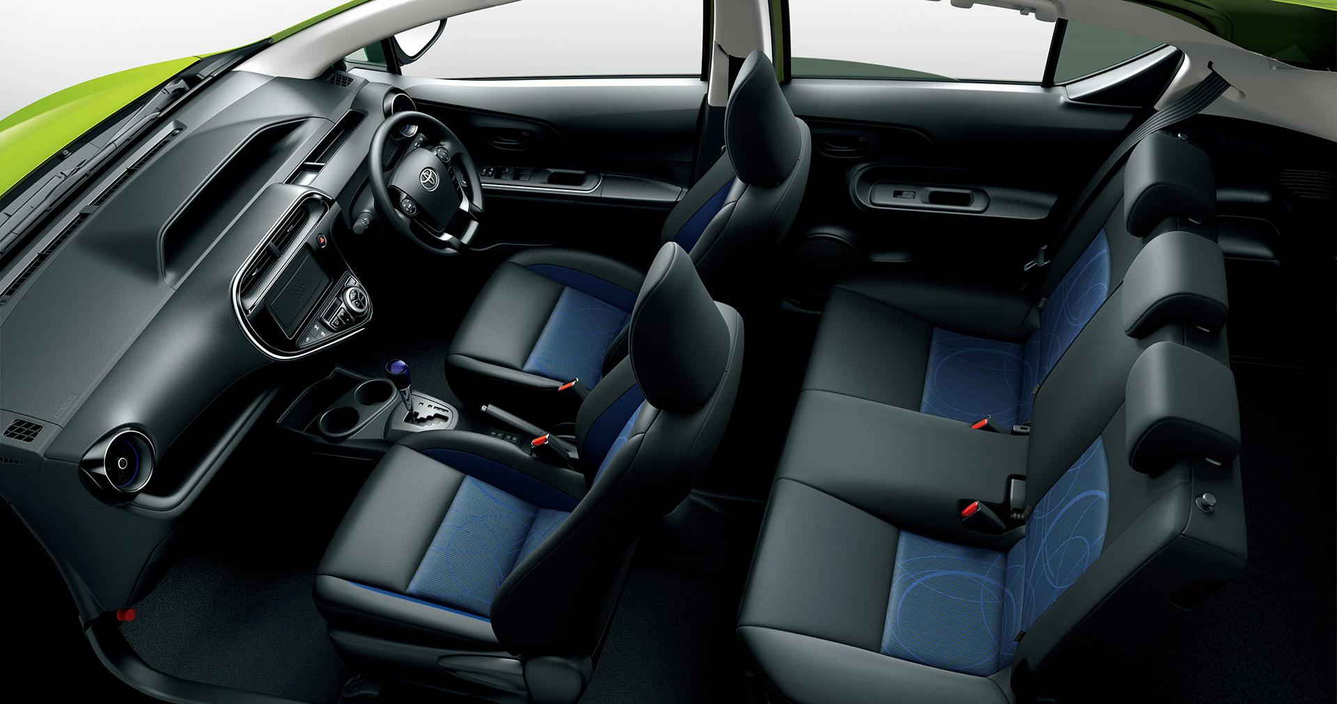 「トヨタ・アクアに「クロスオーバー」を設定。JC08モード燃費も38.0km/Lに進化」の3枚目の画像