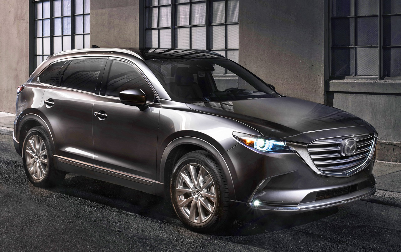 Mazda Cx 9 >> 【新車】米国向け大型SUV・マツダ「CX-9」は充実装備で350万円~とお買い得! | clicccar.com ...