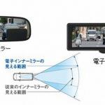 パナソニックがスペイン企業と共同開発した「電子インナーミラー」がトヨタの純正部品に採用 - jn170925-2-2