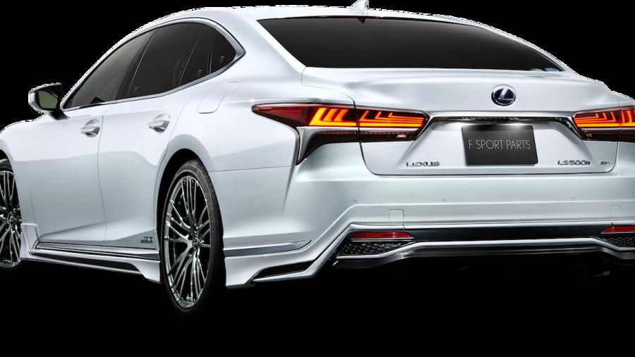 【新車】レクサスLSに圧倒的な高級感をもたらすモデリスタ用カスタマイズパーツが登場