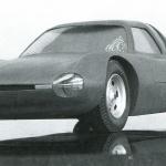 幻のロータリーエンジン搭載開発車両、4ローターのR16AクーペとミッドシップのコスモMC【RE追っかけ記-5】 - R16A coupe 1:5_JKY