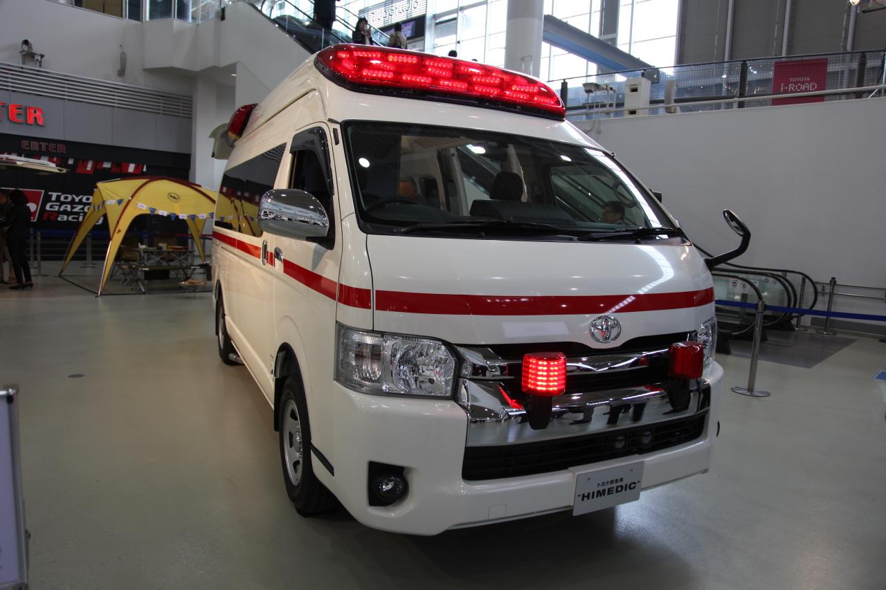 新車】新型ハイエースの救急車「HIMEDIC」は普通のハイエースと意外な ...