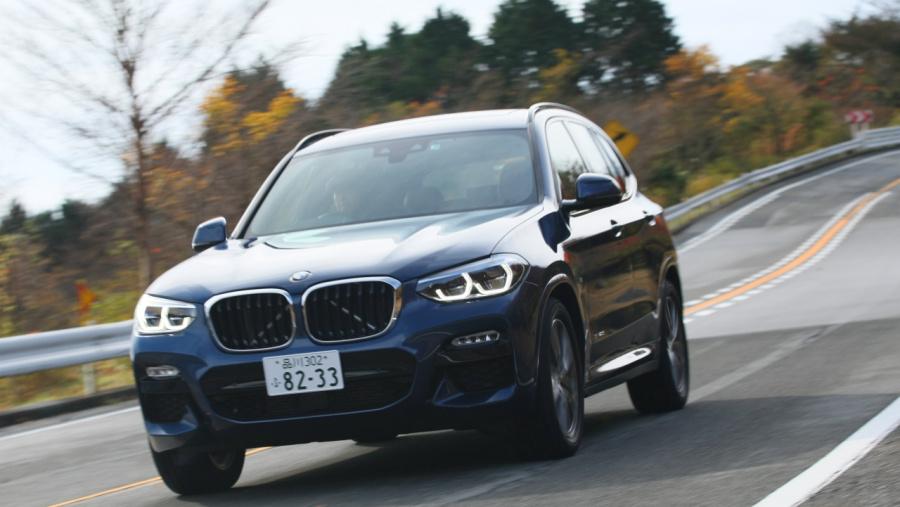 新型BMW X3試乗】大きくなった新...