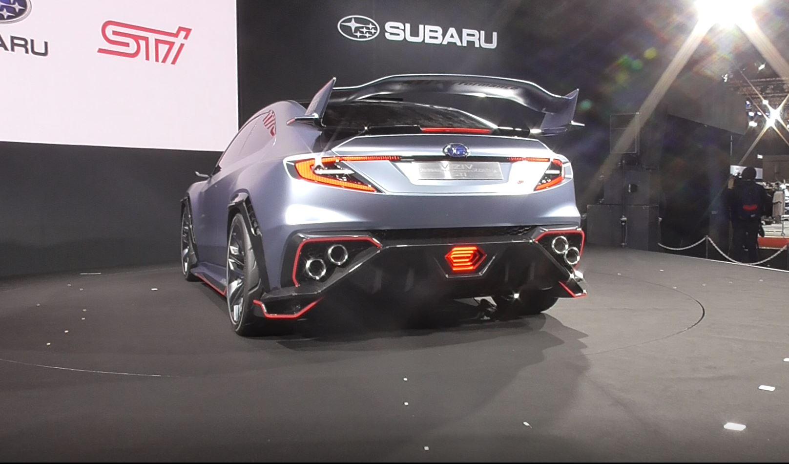 「【東京オートサロン2018】タイヤ交換は車両左側!3分で分かるTAS・メーカー編:スバル」の5枚目の画像