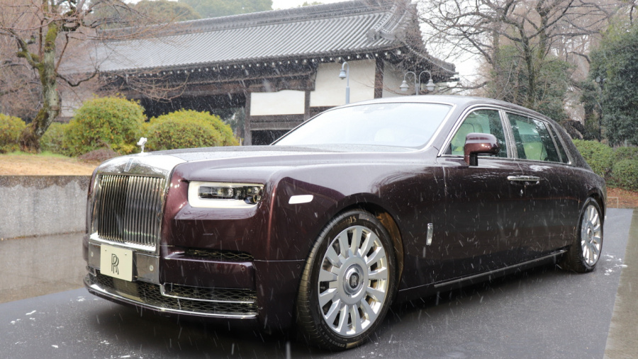 【新車】新型ロールス・ロイス ファントムが日本デビュー、価格は5460万円〜