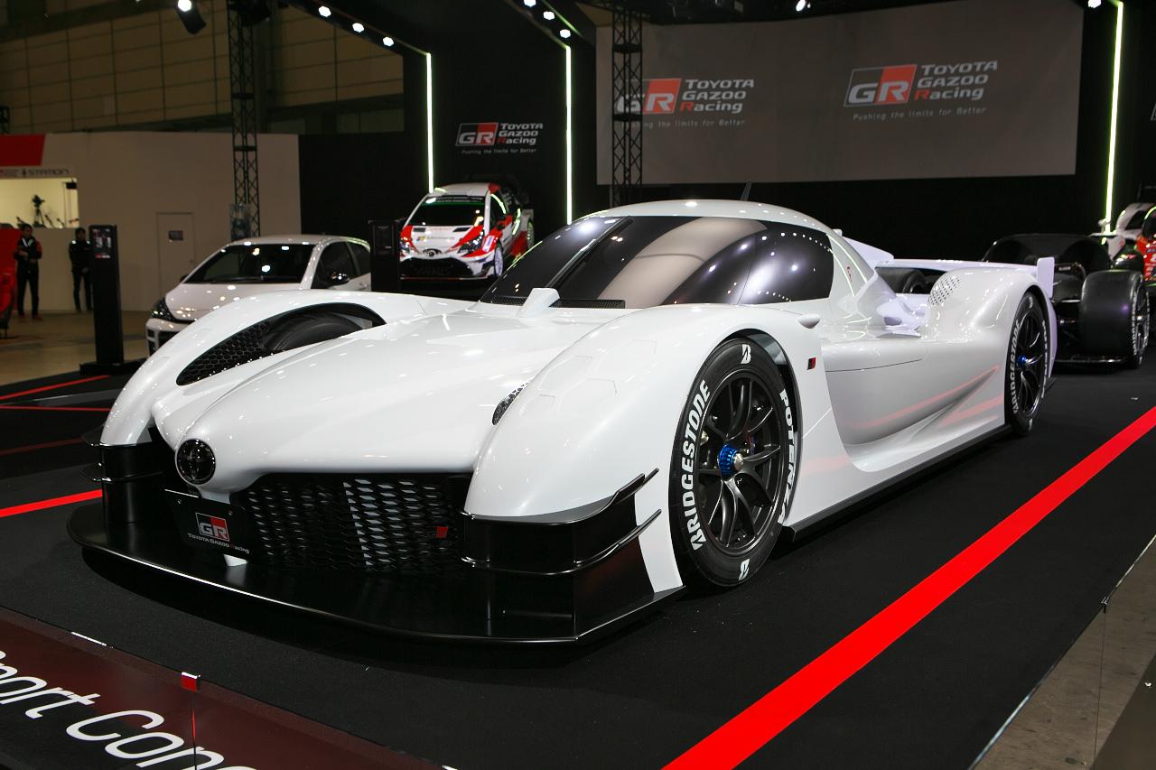 【東京オートサロン2018】ハイブリッドレーシングカーTS050をベースとした「GRスーパースポーツコンセプト」を発表!