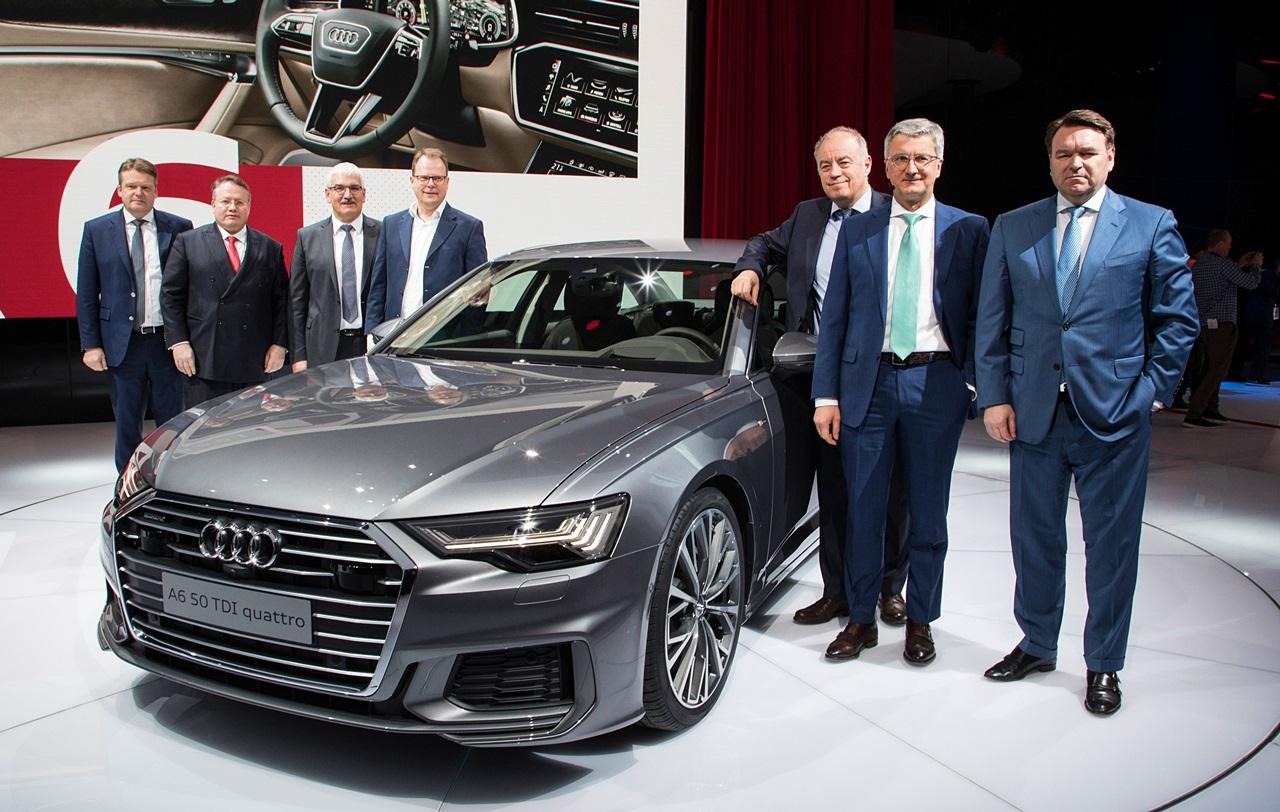 「【ジュネーブモーターショー2018】Nvidia製AIチップが新型「Audi A6」のレベル3自動運転を可能に」の1枚目の画像