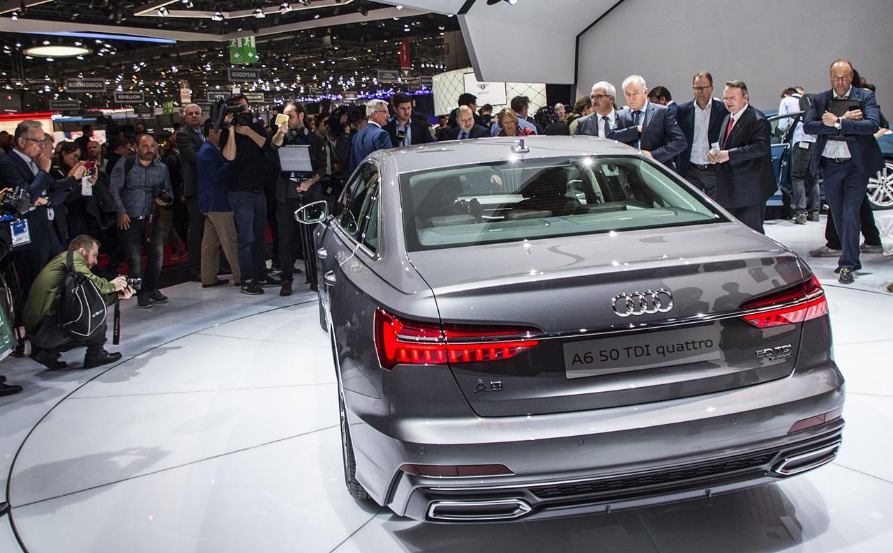 「【ジュネーブモーターショー2018】Nvidia製AIチップが新型「Audi A6」のレベル3自動運転を可能に」の5枚目の画像
