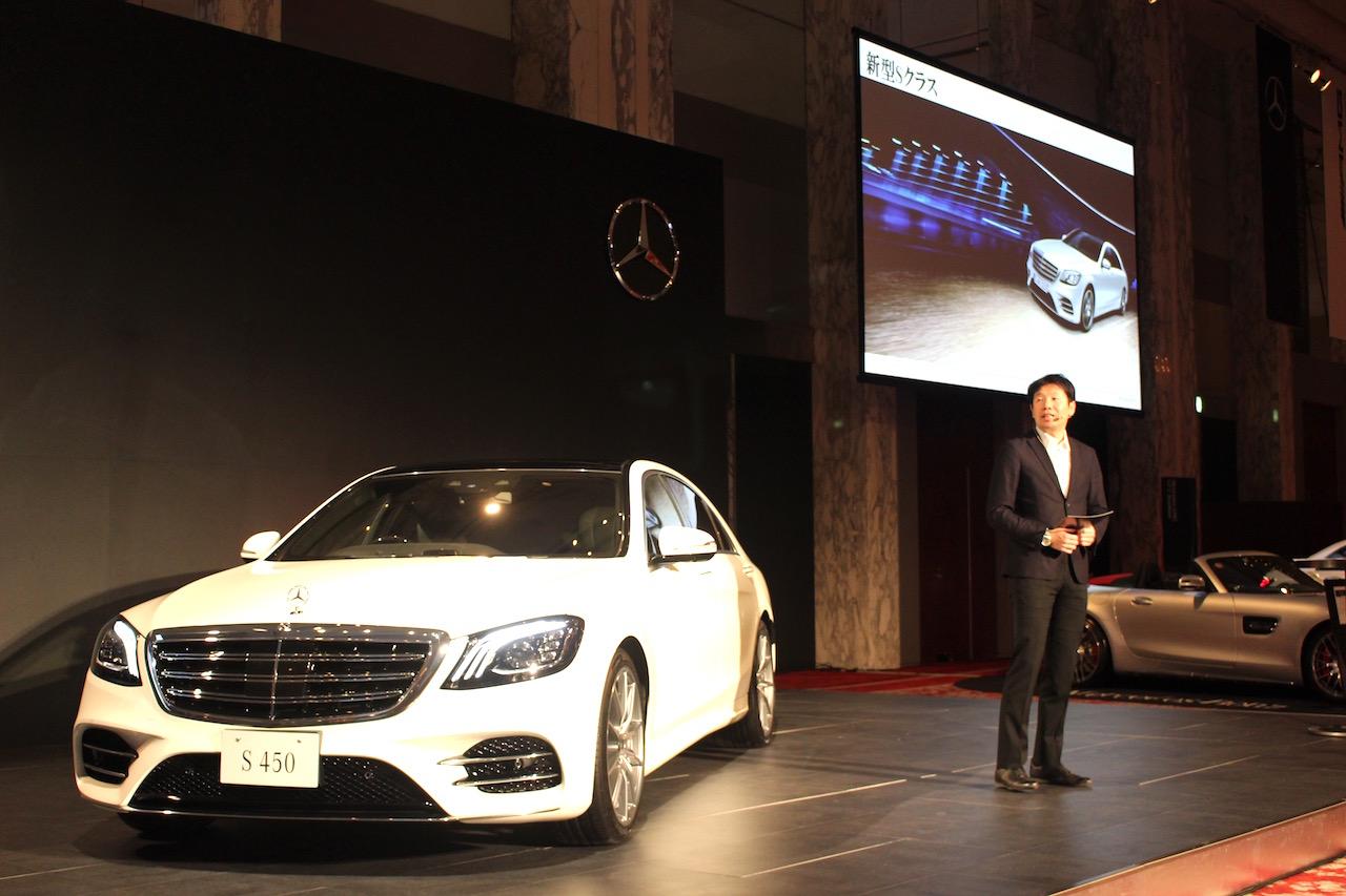「【新車】ISG、新型直列6気筒エンジン、電動スーパーチャージャーを搭載したメルセデス・ベンツ S 450が発表」の1枚目の画像