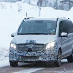 アルファード/ヴェルファイアに追いつけ!? メルセデス・ベンツ Vクラス新型に初の「MBUX」搭載? - Mercedes V-Class facelift 2