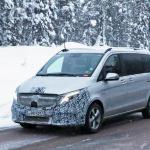 アルファード/ヴェルファイアに追いつけ!? メルセデス・ベンツ Vクラス新型に初の「MBUX」搭載? - Mercedes V-Class facelift 4