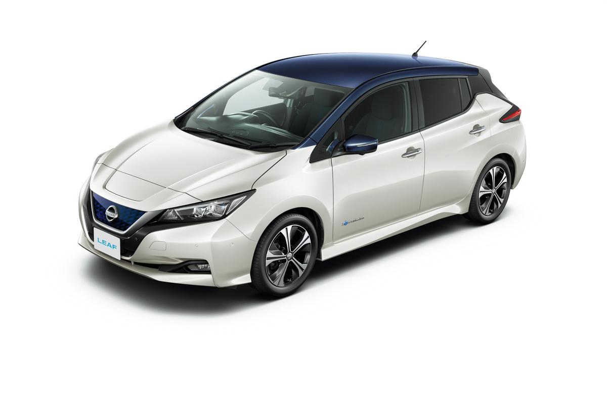 日産自動車の電気自動車「リーフ」が日本国内の累計販売10万台を達成