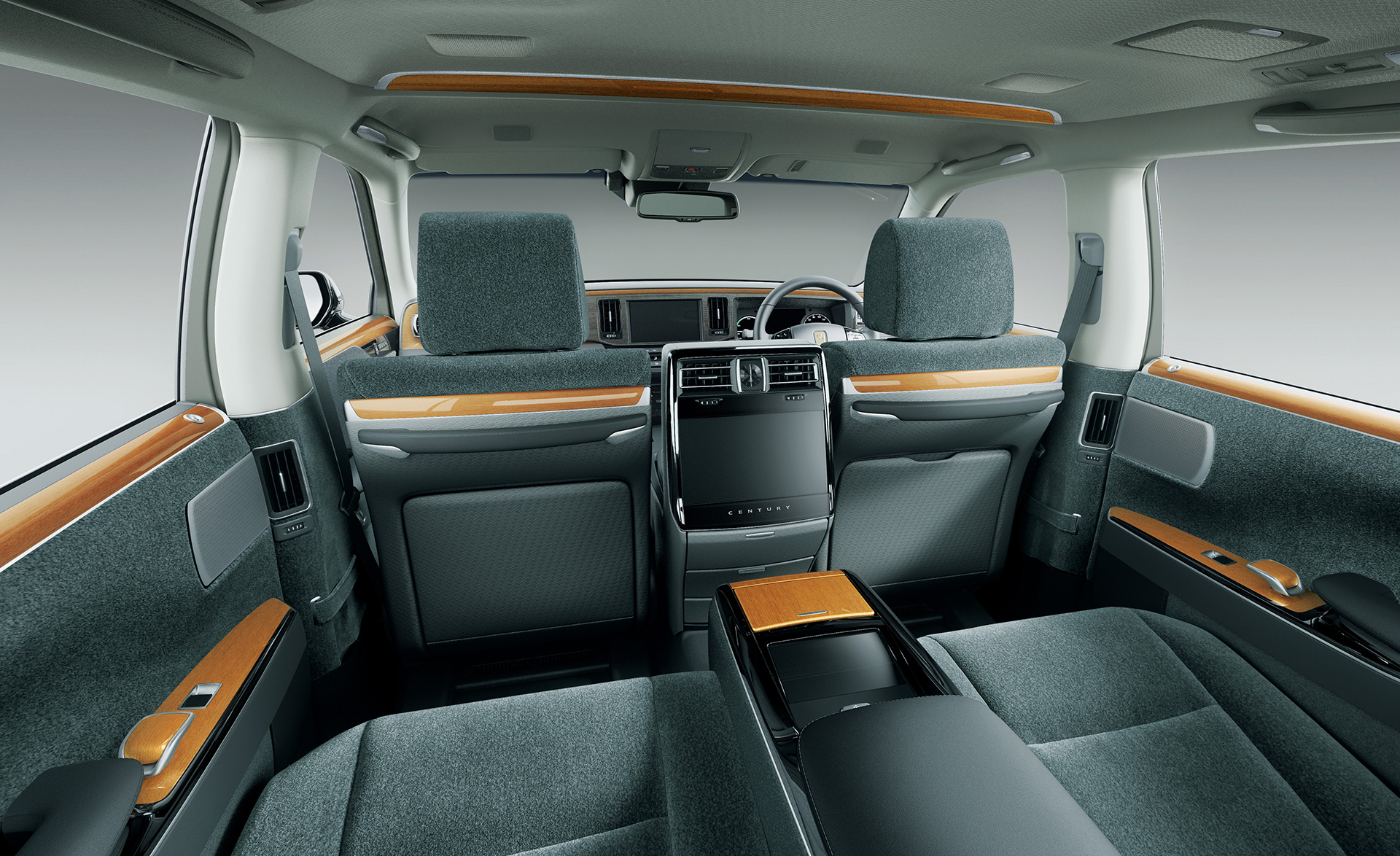 「【新車】新型トヨタ・センチュリーの快適性と「折り上げ天井様式」を採用した天井に注目」の11枚目の画像
