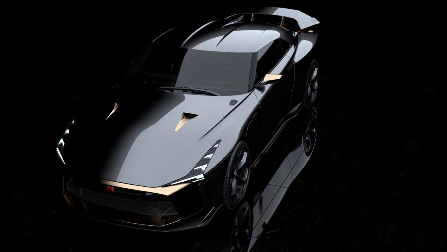 「Nissan GT-R50 by Italdesign」をベースとしたスペシャルなGT-Rが世界限定50台以下で ...