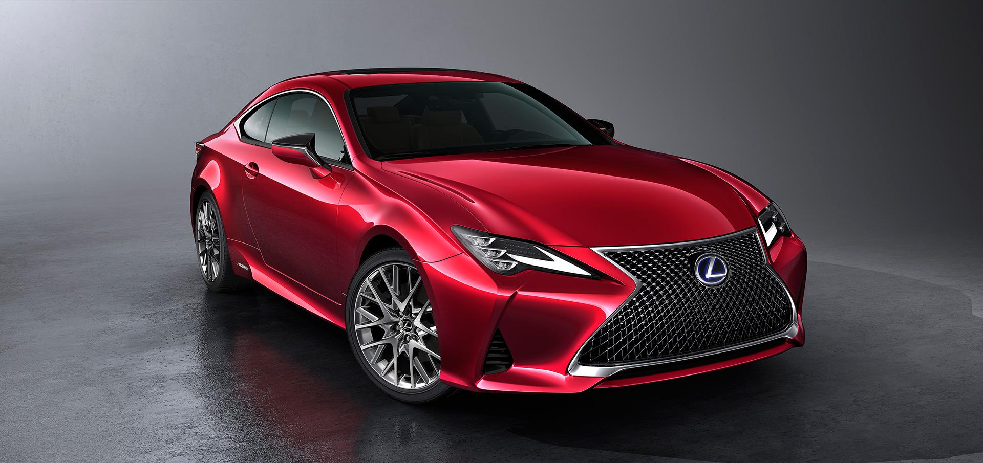 「【新車】レクサスRCがマイナーチェンジ。LC譲りのエレガントな外観と高い走行性能を獲得」の9枚目の画像