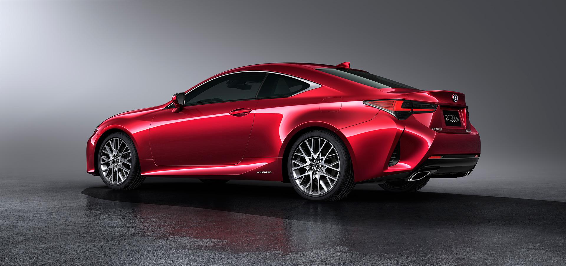 「【新車】レクサスRCがマイナーチェンジ。LC譲りのエレガントな外観と高い走行性能を獲得」の8枚目の画像